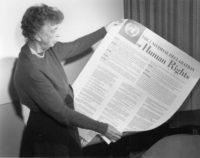 Eleanor Roosevelt Lee la Gran Invocación