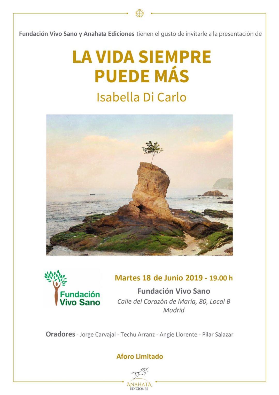 LA VIDA SIEMPRE PUEDE MÁS – Presentación del libro en Madrid